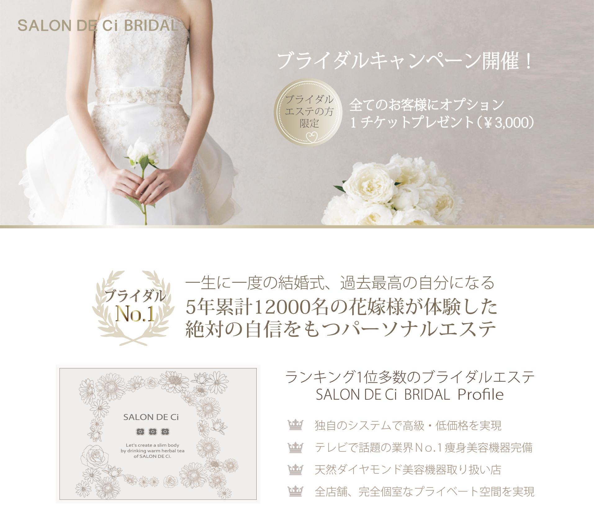 ①ブライダルキャンペーン(新トップ1)