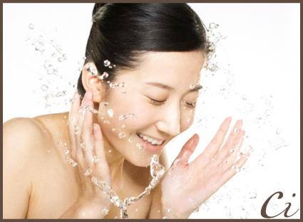 洗顔のコピー